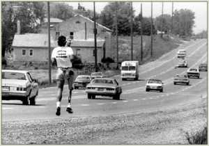 Terry Fox in Ontario, 1980