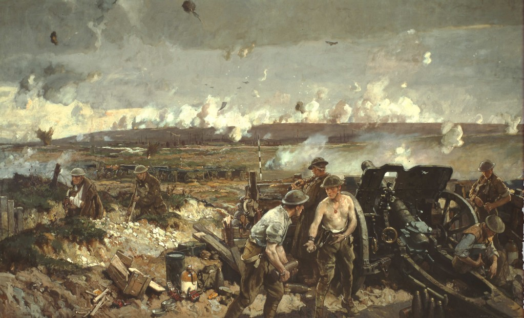 The Taking of Vimy Ridge, Easter Monday 1917 - Painted by Richard Jack